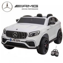 Licensed 2 Seat 4WD Mercedes GLC White 24v Jeep Ride On