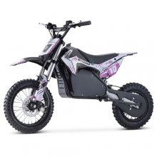 Pink Teenagers 1200W 48V Lithium Battery Motorbike Ride On