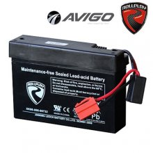 [12v] 12 Volt 7ah Rollplay Avigo Replacement Ride On Toy Battery