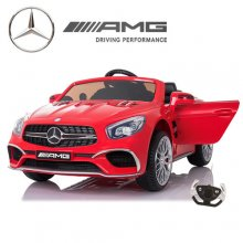 12v Mercedes Benz AMG SL65 Red Kids Electric Car