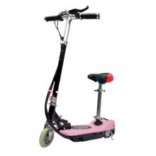 12v Pink 120W Seated Electric Zoomer E-Scooter
