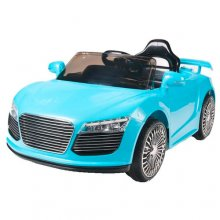 Kids Blue Audi Inspired R8 12V Ride On Car