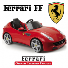 Feber Licensed Official 6v Red Ferrari FF Kids Car