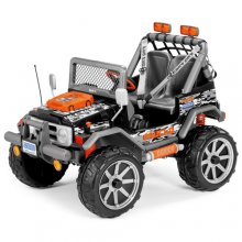 12v Peg Perego Off Roader 12V Battery Jeep with Adjustable Seats
