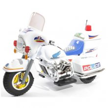 Kids 6v Ride-on Police Style Cruiser Motorbike