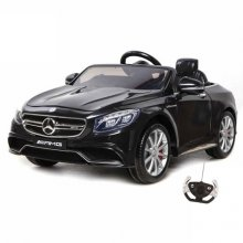 Black Licensed 12v Mercedes S63 AMG Ride On Sports Car