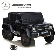 24v Licensed Black 6x6 Mercedes Kids Ride On Jeep with EVA