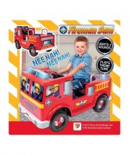Kids 6v Electric Ride On Fire Engine Truck