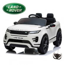 White 12V Official 2 Seat Range Rover Evoque Compact Ride On Car