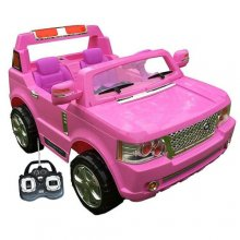 Pink 24v Two Seater Ride-on Range Rover Style Jeep
