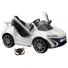 12v Ride On Neon Lights Compact Sports Car with Remote