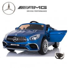 Limited Edition Blue Mercedes SL65 12v Ride On Kids Car