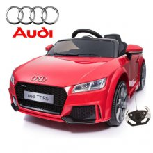 12v Dual Motor Licensed Audi TTRS Roadster Kids Car