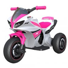 Girls Pink Style 6v Powered Mini Trike With Lights & Sounds
