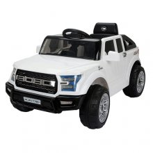 Ford Raptor Style 12v Kids Electric White SUV Ride On