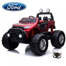 Kids Licensed Ford Ranger Red 24v Ride On Monster Truck
