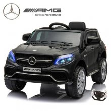 Kids Compact Official 6v Mercedes GLE Black Ride On Jeep