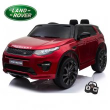 Metallic Red Edition Kids 12v Land Rover Discovery Jeep