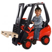 Kids Pedal Ride On Working Forklift Truck