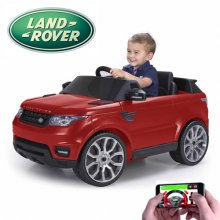 Kids 6v Feber Range Rover Sport Jeep with Smartphone Remote