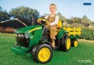 PEG PEREGO John Deere 12v Ground Force Tractor