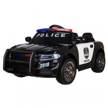 12V Ride On NYPD Style Kids Police Car With Siren & Lights