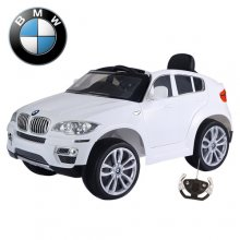 12v Official White BMW X6 Kids Electric 4x4 Jeep