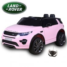 Kids 12v Pink Licensed Land Rover Discovery Ride On Jeep