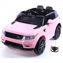 Kids Mini HSE Discovery 4x4 Style Pink 12v Jeep