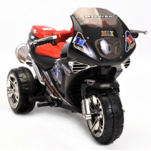 Kids Cool Black 6v Superbike Trike Sports Ride On