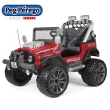 Two Seat 12v Red Gaucho Red Luxury Kids Electric Jeep