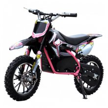 Pink 36v Battery Powered Older Childrens Ride-on Motorbike