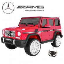 Licensed EVA Edition Red Gloss Mercedes G65 Kids 12v Jeep