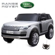 Kids 24v Official Range Rover Vogue Silver Two Seat 4WD Jeep