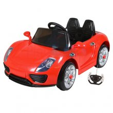 12v Red Porsche 918 Supercar Style Kids Ride On Car