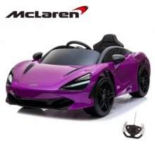 12V Official McLaren 720S Purple Ride in Sports Car with Remote