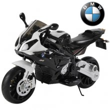 12v Official BMW 1000 Battery Powered Super-bike with Stabiliser