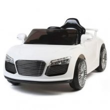 Kids White Audi Style R8 12V Ride On Car