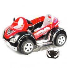 6v Super Hero Ride On Battery Powered Go Kart