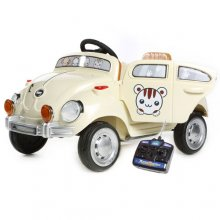 Kids Cute Mini Beetle Style 6v Ride On Car