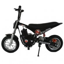 12v Black & Aluminium Ultimate 250W Mini Off Road Motorbike
