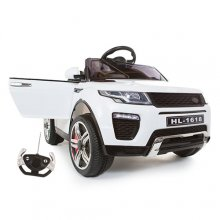 White Xtra Urban Evoque Style 12v SUV Jeep with Remote + MP3