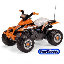 Kids Sporty Off Road Style 12v Orange Quad Ride On