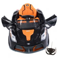 Kids Double Motor 12v Supercar Style Ride On with Doors