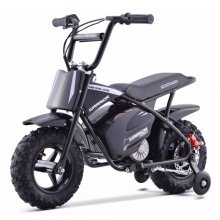 2020 Upgraded 24v Kids Black Off Road Retro Monkey Bike