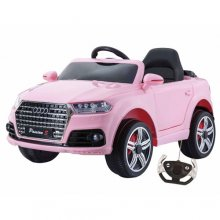 12v Pink Audi Q5 Style Side-In Jeep with Remote