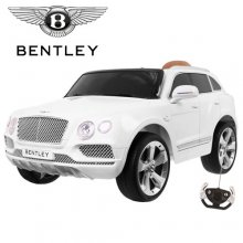 Official White Bentley Bentayga 12v Kids Jeep with Remote