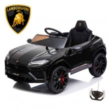 Black 12V Licensed Lamborghini Urus 2021 Ride On Car with remote