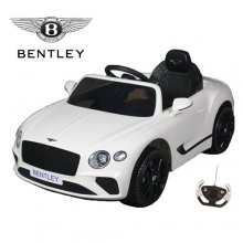 12V White Licensed Bentley Continental GT Compact Toddlers Ride