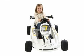 6v Twin Motor Electric Ride-On Go Kart for Kids